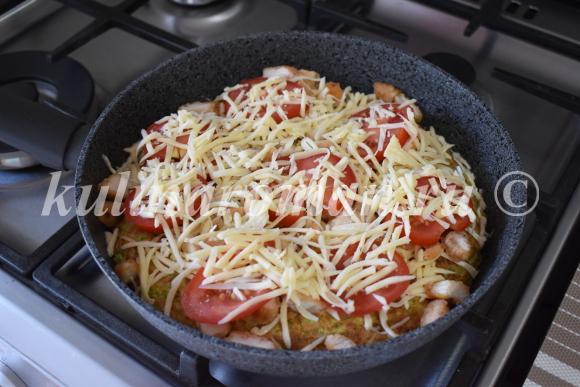 как приготовить вкусную пиццу из овощей