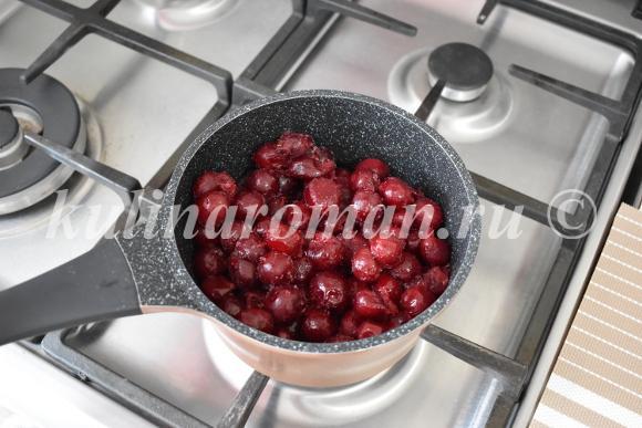 вишневый конфитюр рецепт