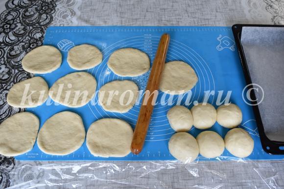 пирожки из быстрого дрожжевого теста