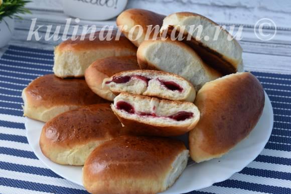 рецепт пирожков с вишней