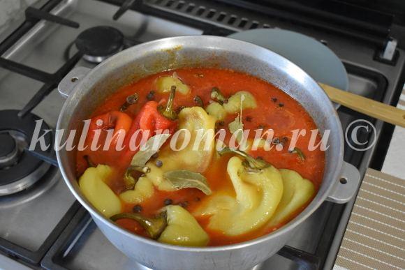 перец с помидорами рецепт