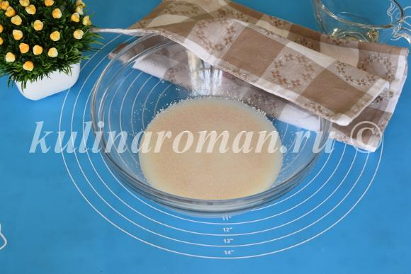 дрожжевое тесто для сосисок в тесте