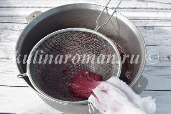 сок виноградными рецепт с фото