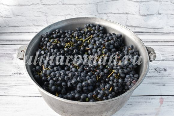 сок из винограда без соковыжималки