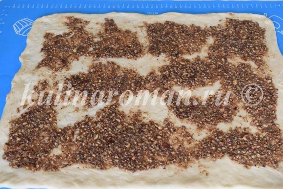 ореховая начинка для булочек