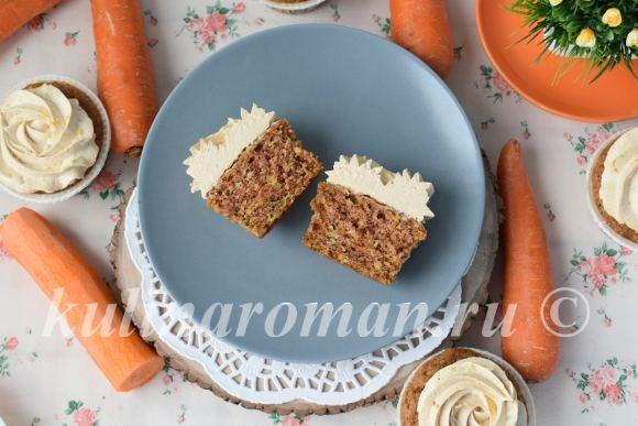 морковная сладкая выпечка