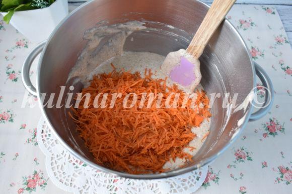 кексы с морковью