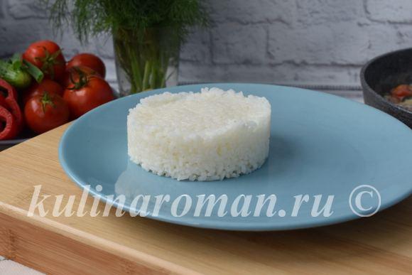 рис с семгой рецепт