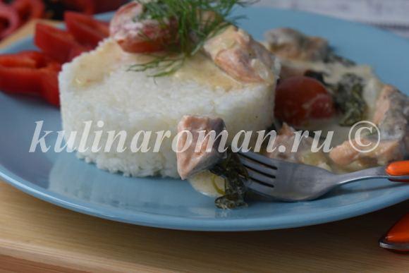 семга рецепт с фото