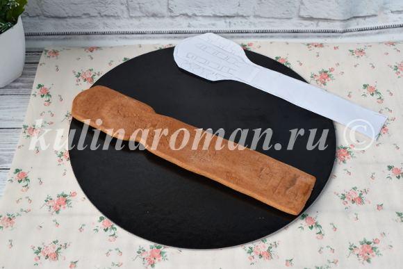 гриф гитары из печенья
