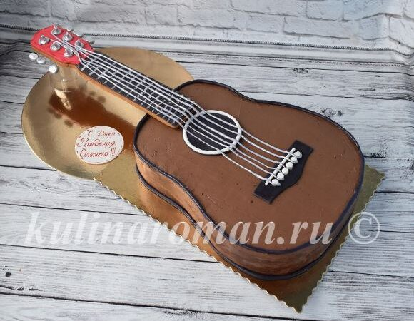торт гитара