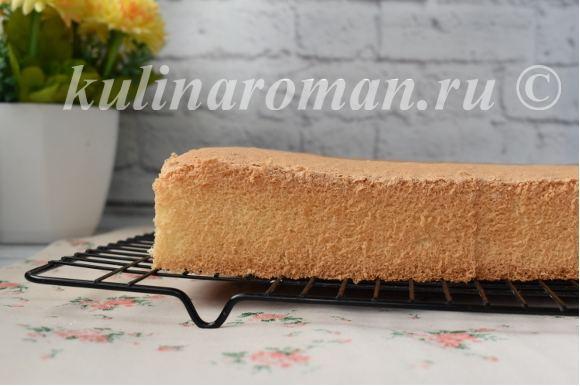 ванильный бисквит рецепт