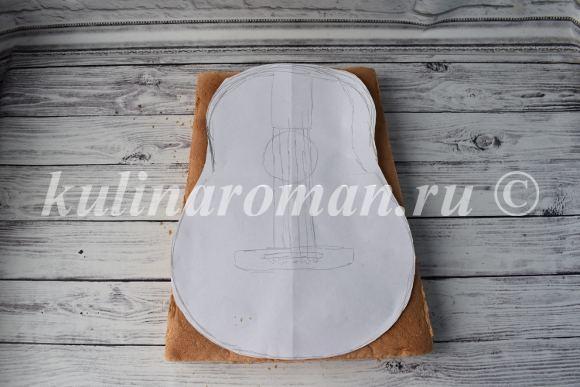 как приготовить торт гитара