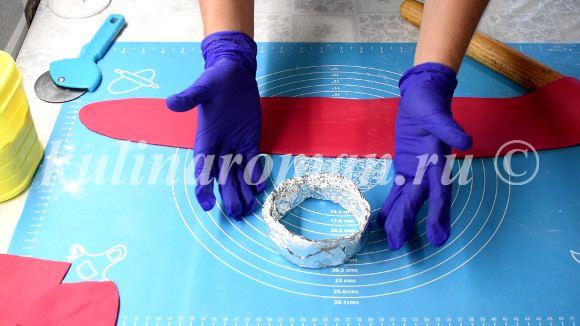 делаем кольцо из фольги