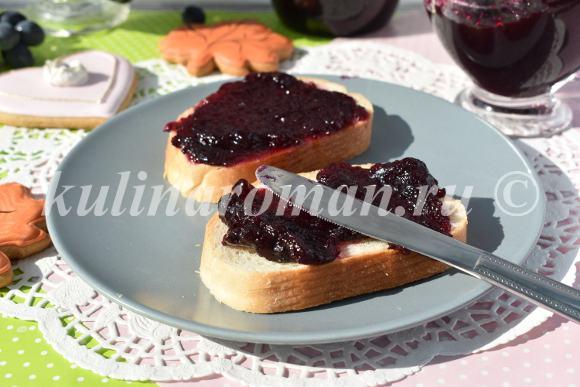 черный виноград рецепты