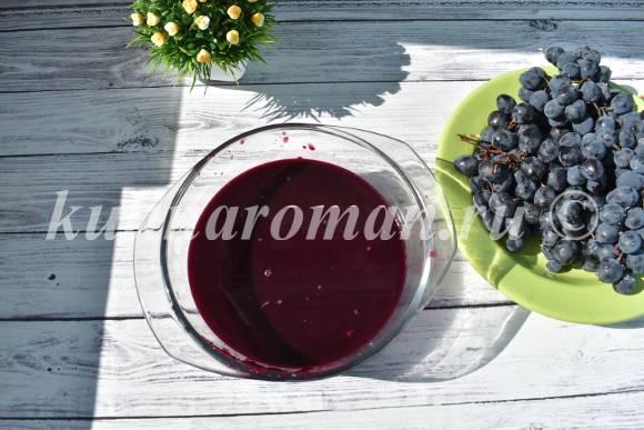как приготовить желе из винограда