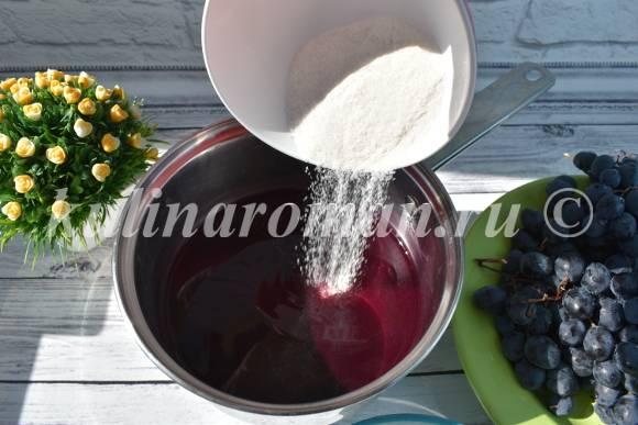 винограда на зиму рецепт