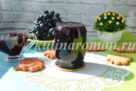 виноград на зиму желе