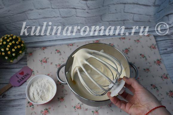 как приготовить бисквит для рулета