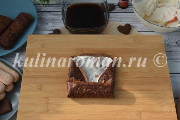 шоколадные блины рецепт пошаговый
