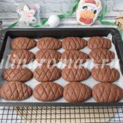 праздничное печенье рецепт