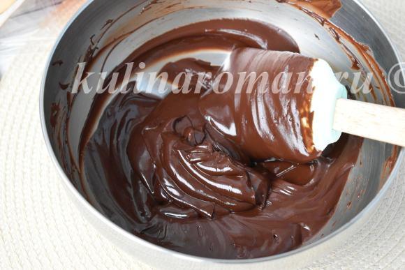 шоколадный ганаш для торта