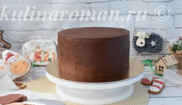 ганаш для покрытия торта