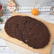 шоколадный шифоновый бисквит