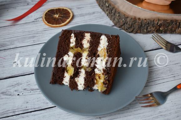 торт шоколад апельсин рецепт