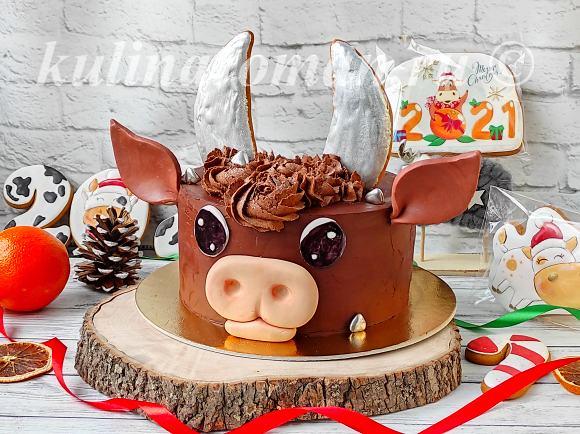 торт на новый год 2021