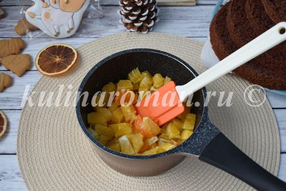 апельсиновый конфитюр для торта