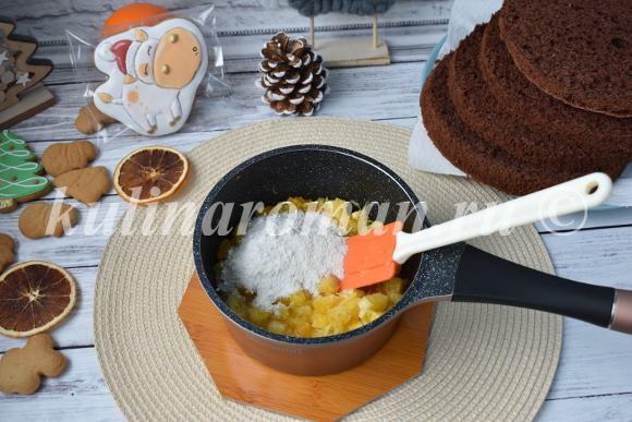 цитрусовая начинка для торта