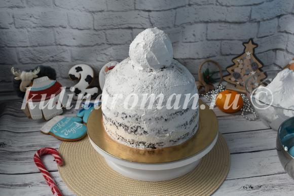 торт шапка пошаговый рецепт