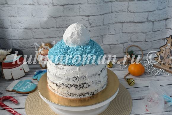 торт шапка мастер класс