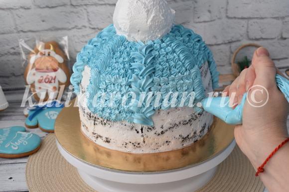 как приготовить торт шапка