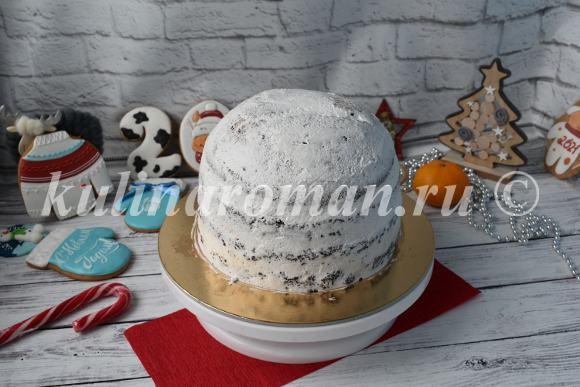 новогодний торт 2021