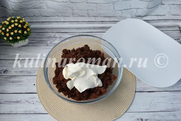 пирожное картошка пошаговый рецепт