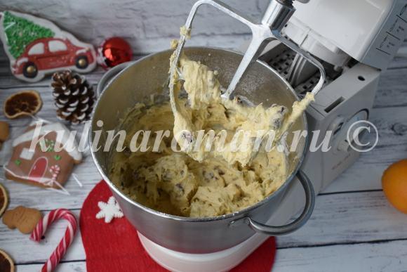 тесто для рождественского кекса