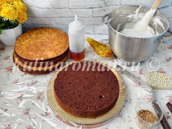 шоколадный торт манго маракуйя