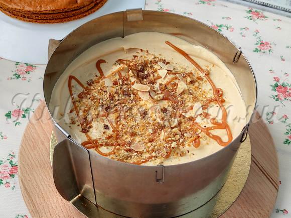 карамельный торт как приготовить