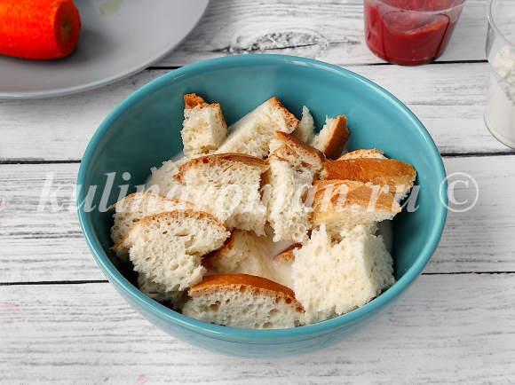хлеб замочить в молоке