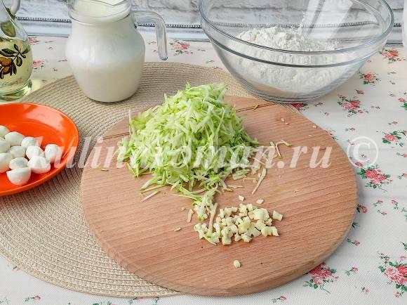 оладьи с кабачками