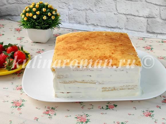торт молочная девочка по шагам