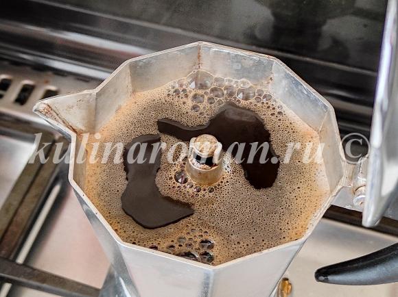 кофейный бисквит