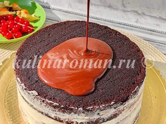 глазурь шоколадная для торта