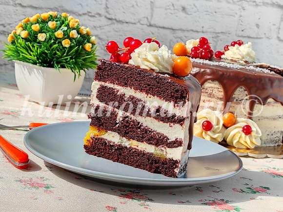 шоколадный постный торт рецепт