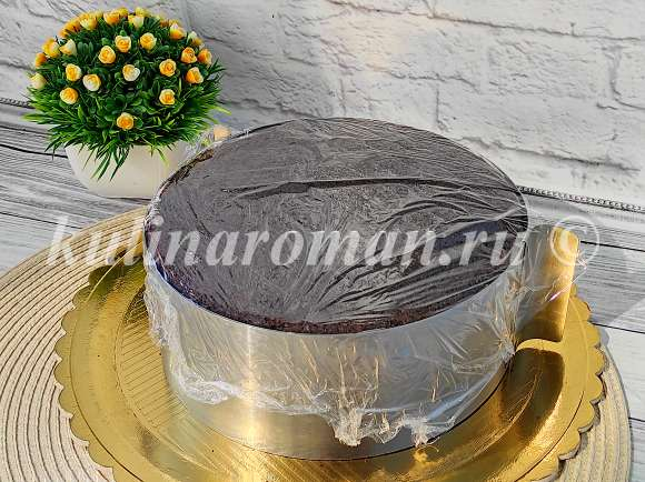 постный домашний торт