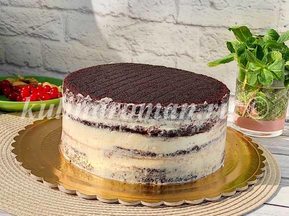 как приготовить постный торт