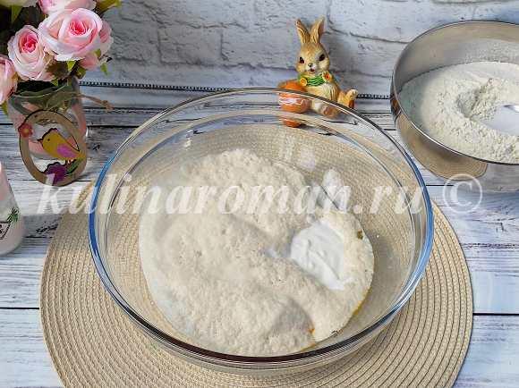 как приготовить тесто для куличей