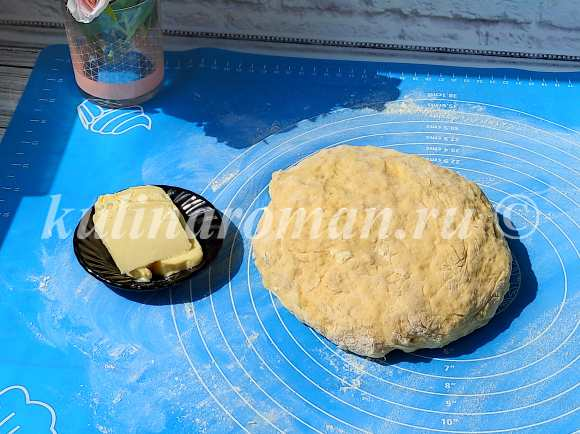 сдобное тесто на сметане